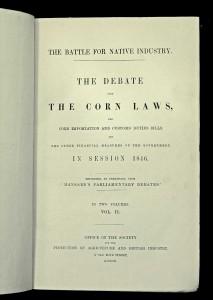 Corn laws debate