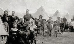 South African Boer War Camps