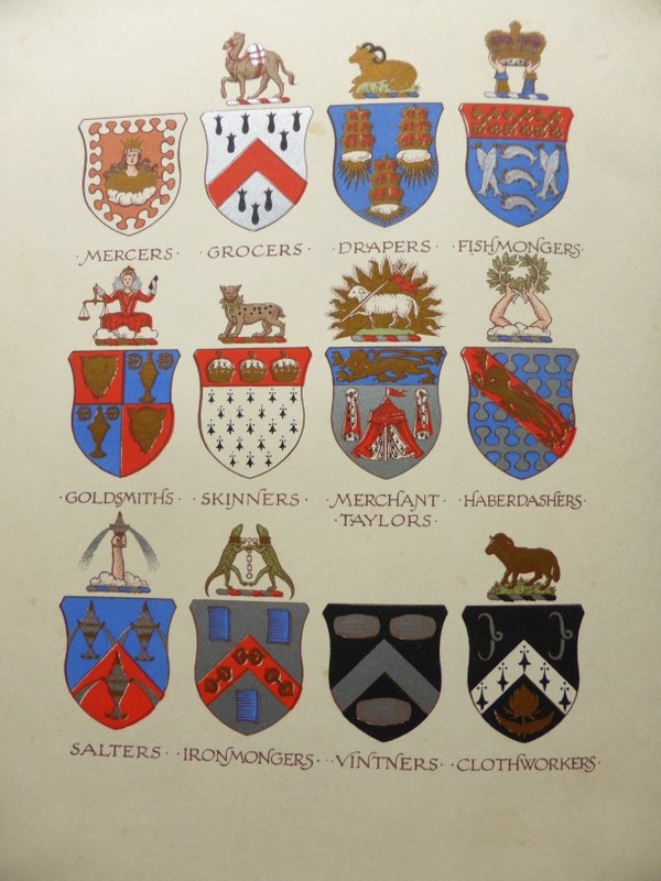 List of the twelve great livery companies