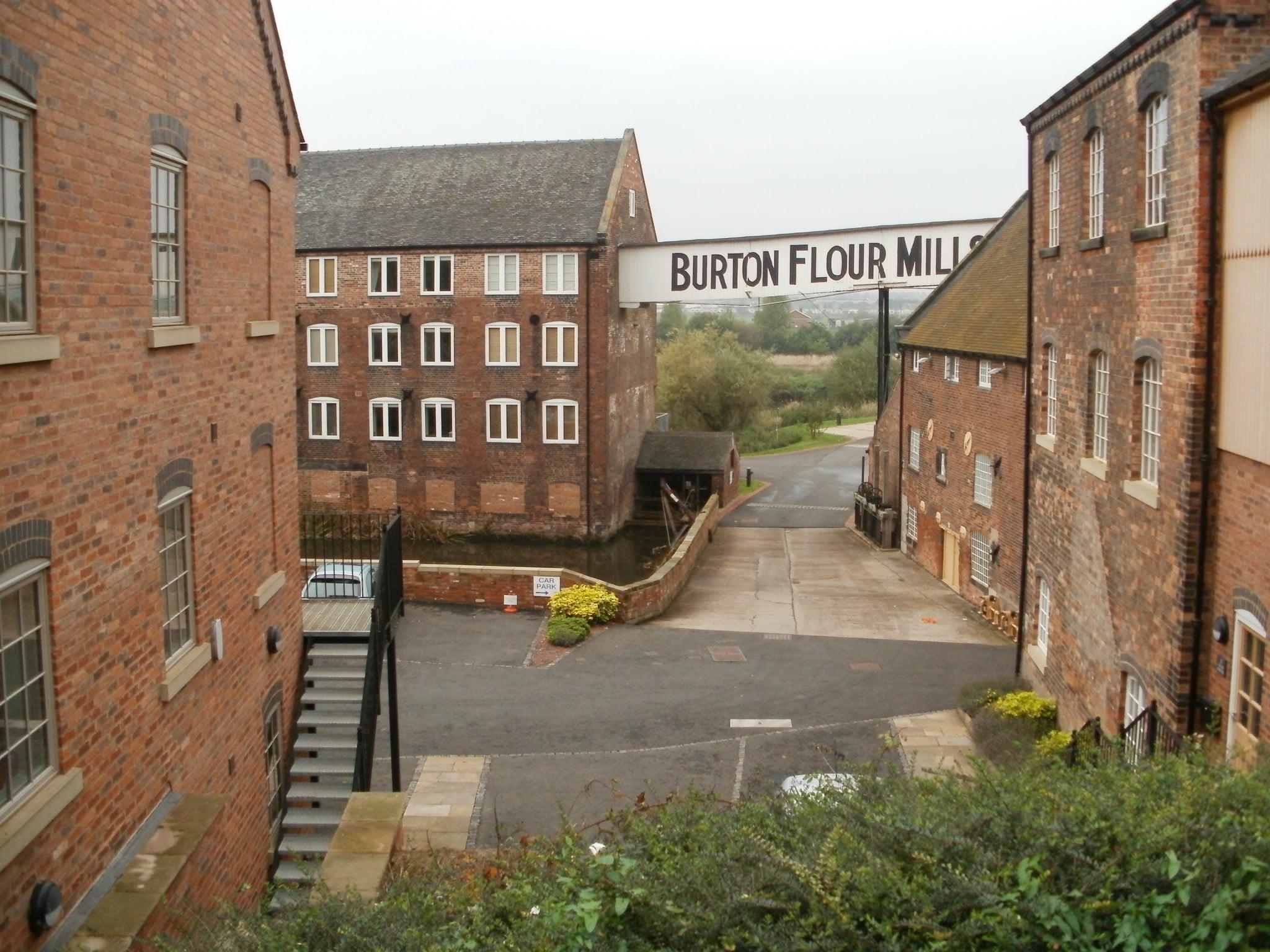 Sir Robert Peel (1st Baronet) site of the original mill