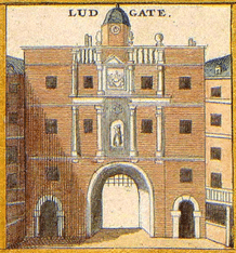 Ludgate Prison where Jane Shore Edward IV's Mistress was an inmate