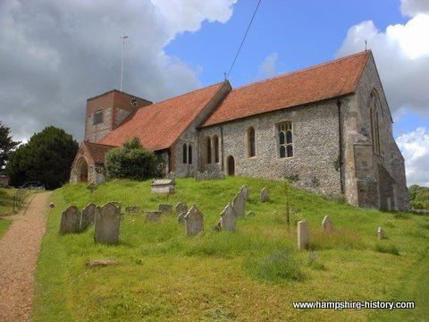 St Michael Church Cheriton