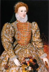 Queen Elizabeth I iconic british woman in history