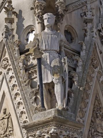 Statue Simon de Montfort Leicester