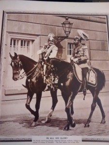 Kaiser and King George V before WW1 in German Uniforms