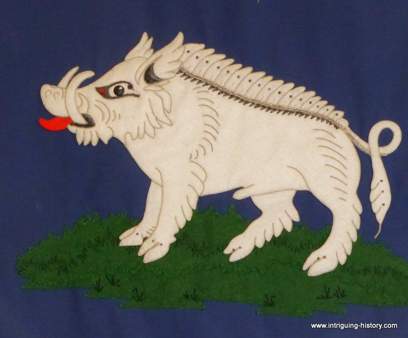 Boar symbol of King Richard III