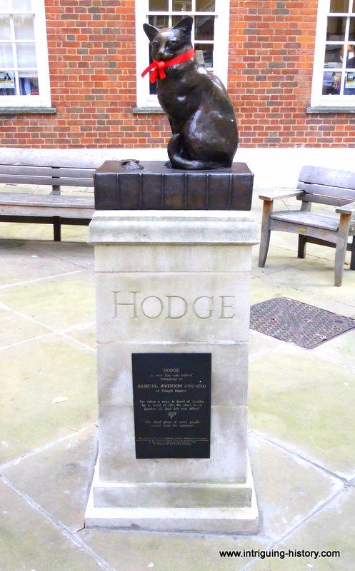 Samuel Johnson and Hodge