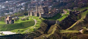 Dover Castle built by Henry II Chapel dedicated to Beckett King John and Rebel Barons