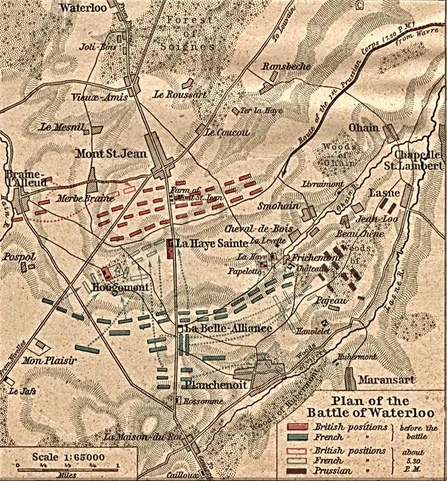Duke of Wellington battle of Waterloo