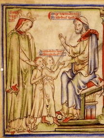 Queen Emma and Richard of Normandy