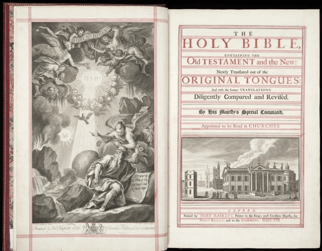 John Baskett's Vinegar Bible