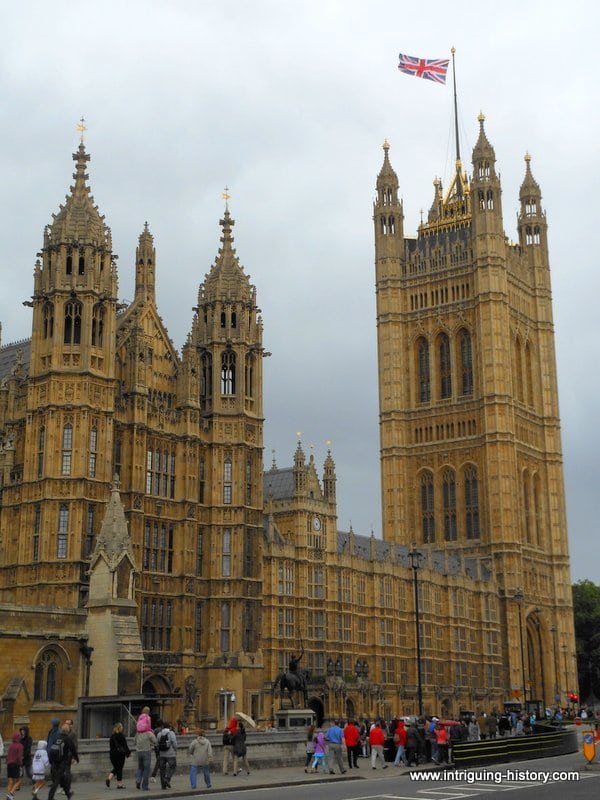 George Vulliamy Houses of Parliament