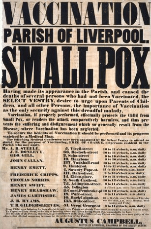 c19th smallpox vaccination certificates   Google Search